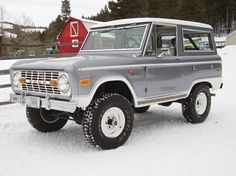 1971 Ford Bronco.