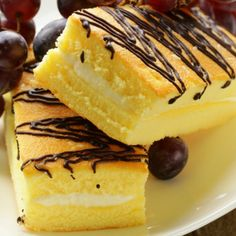 Yummy Cake With Marshmallow Filling Recipe from The Italian Kitchen