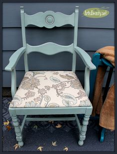 Simple Chair Makeover Themed Furniture Makeover Day