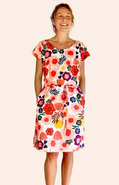 Olive's Garden dress 100% cotton (WITH POCKETS)