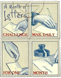 nice artistamps..... Hawwa's Mail Adventures: MAIL PROJECTS #63 - A Month of Letters