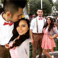 Had a great day today with my babe  #dapperday #disneyland by ajgarcia0723