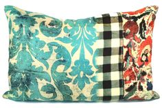 "rhapsody  16 x 24 "" pillow designed by tracy porter-poetic wanderlust"