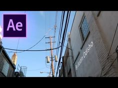How to 3D Motion Track Floating Text onto Ground or Walls in Adobe After Effects! (CC 2017 Tutorial) - YouTube