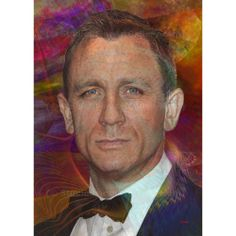 Bond, James Bond 6 - By John Robert Beck  This art was created in 2013. The piece is from a series of James Bond art. This piece features the sixth person to star as James Bond, Daniel Craig. $3.00