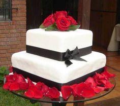 TORTAS CUADRADAS de MATRIMONIO | peinados de novia, peinados de moda