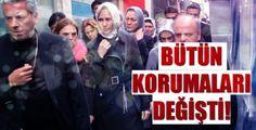 Sümeyye Erdoğanın korumaları değişti