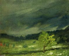 Summer Storm 1902 Art Print by Henri Robert. All prints are professionally printed, packaged, and shipped within 3 - 4 business days. American Realism, American Art, Cincinnati, Ashcan School, Robert Henri, Most Famous Artists, Gerhard Richter, Art Database, Art Design