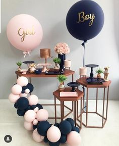 Best Selected Creative Baby Shower Themes 2019 - Page 8 of 22 - hairstylesofwomens. com baby shower ideas;baby shower ideas for boys; reveal ideas for party Deco Baby Shower, Fiesta Baby Shower, Shower Party, Baby Shower Parties, Baby Boy Shower, Shower Games, Baby Party, Baby Shower Balloons, Babby Shower Ideas