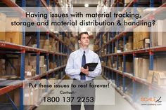 Having issues with #material tracking, storage & material distribution & handling? Visit @ http://ow.ly/RYak303agi4