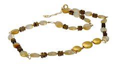 Sale Citrine Necklace November Birthstone by nuritdesignjewelry