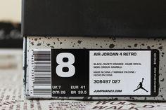 Air Jordan 4 Retro Cavaliers, 308497-027