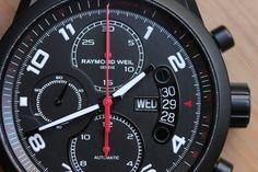 Hands-On With The Raymond Weil Freelancer Urban Black Chronograph