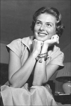 Vintage Glamour Girls: Ingrid Bergman