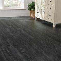 Armstrong Luxury Vinyl Plank Flooring LVP Black Wood Look - Does luxury vinyl plank flooring look cheap