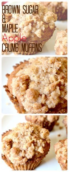 Housevegan.com:  Brown Sugar & Maple Apple Crumb Muffins  - These vegan muffins are really delightful! The ingredients are true to the fall season without being overwhelming, and best of all, you probably already have everything you need to make them. #veganfall #fallbreakfast #fallmuffins