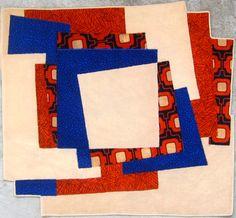 Handicraft tapis rug carpet patchwork french Paris création  tableau unique descente de lit  tapis de couloir corridor rug pure laine wool  - Carpet Ludique 2 upcycling artisanat d'art art&craft craftsmanship