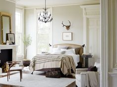 Pair a Stearns & Foster® mattress with a touch of classic décor, and you have yourself the perfect bedroom. Source: www.stearnsandfoster.com