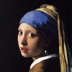 We all thrilled to Johannes Vermeer painting his best-known portrait as dramatized in Peter Webber's 2003 film Girl with a Pearl Earring. Johannes Vermeer, Tim's Vermeer, Most Famous Paintings, Classic Paintings, Famous Artists, Delft, Visual Elements Of Art, Girl With Pearl Earring, Pearl Earing