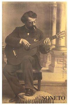 Miscellaneous - Francisco Tarrega Poster - Guitar Salon International
