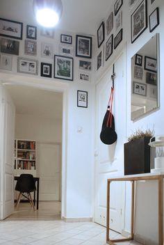 mieszkanie w kamienicy aranżacje - Szukaj w Google Sweet Home, Gallery Wall, Architecture, Studio, Interior, House, Design, Home Decor, Corridor