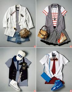 Sporty Chic looks #3-6