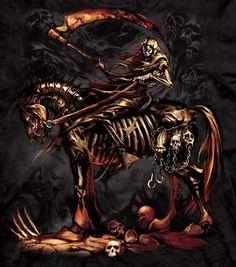The Mountain Grim Reaper T-shirt | Scythe