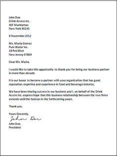10 Best Business Letter Format Images Business Letter Template