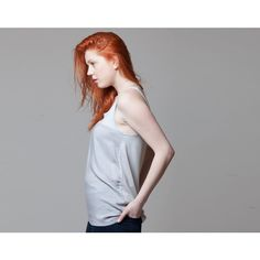 Vest tunic, sleeveless top (300 PLN) ❤ liked on Polyvore featuring tops, tunics, sleeveless tunic, vest tops, sleeveless tops, sleeveless vest and sleeveless vest top