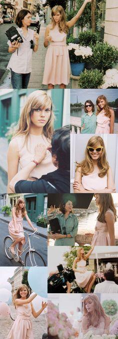 Rebellious yet Romantic Music ad Miss Dior Cherie Directed by Sofia Coppola model Maryna Linchuk Brigitte Bardot