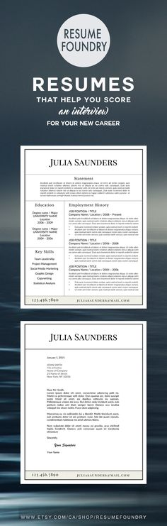 Letter Of Rec Template Modern Resume Template For Word 13 Page Resume  Cover Letter  .