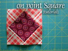 On Point Square tutorial