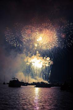 fireworks. (: