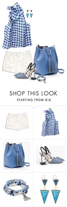 """Untitled #6545"" by lisa-holt ❤ liked on Polyvore featuring J.Crew, Etrala London, Simply Vera and Sydney Evan"
