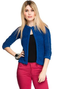 3/4 Sleeve Lenght Cropped Cardigan: Just For 5Pounds