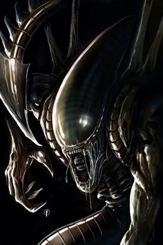 AWESOME ALIEN ART