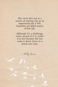 Ashley's Journal Entry #3 | My prayer during this season of being single.