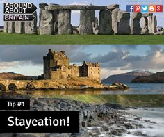 Staycation. Book a holiday in Britain, UK by using our website www.aroundaboutbritain.co.uk. Travel.