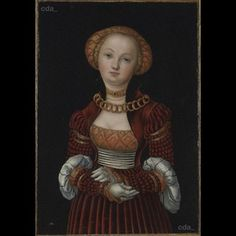 Portrait of a Woman about 1525 Lucas Cranach the Elder The National Gallery, London