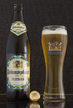 "Festbier - Festbier (Bayerisches Staatsbrauerei Weihenstephan - Allemagne) - grâce à ""Box découverte Saveur-Biere.com"" #SaveurBox - Photo de bière : http://photodebiere;com"