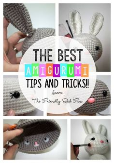 The best tips and tricks when you are beginning with amigurumi! From safety eyes to hook size and everything no one ever told you!