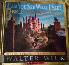 Wick, Can You See What I See, once Upon A Time, puzzle, search, Three little pigs, red riding hood, hansel and gretel, cinderella, sleeping beauty, Mermaid