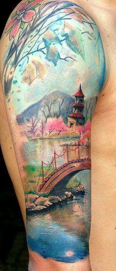1000+ Ideas About Asian Tattoo Sleeve On Pinterest