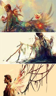 Castiel byAmanda (wifihunters.tumblr.com) #spn