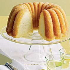Amazing #lemon #cornmeal #cake. Tastes even better the next day!