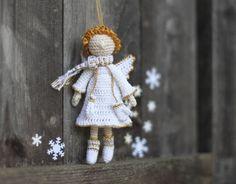 Crochet Angel Christmas Angel Fairy Elf New Year by FancyKnittles, £19.00