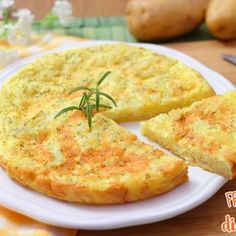 Frittata di patate I Love Food, Good Food, Yummy Food, Vegetarian Recipes, Cooking Recipes, Antipasto, Food To Make, Food Porn, Easy Meals