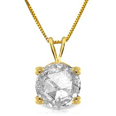 14K Solid Gold Heiress Diamond Necklace