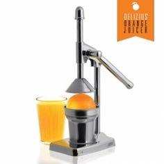 Exprimidores de naranjas baratos para exprimir hasta la ultima gota de zumo. Haga zumos saludables y naturales. Exprimidores de acero y manuales..