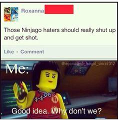 Hehe good idea #ninjago